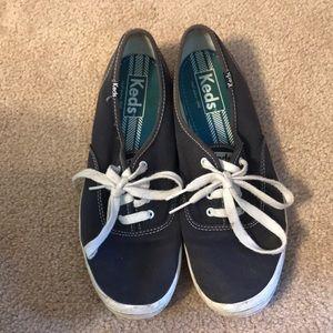 Navy Blue Keds